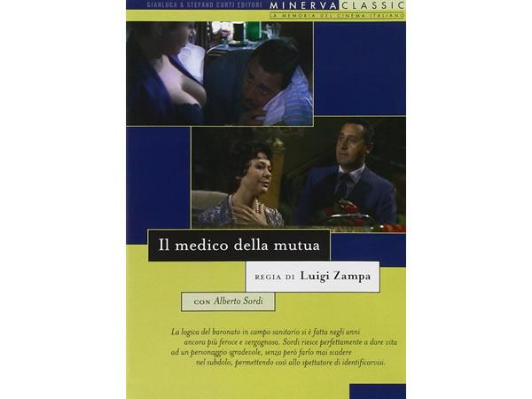 画像1: イタリア語で観るイタリア映画 アルベルト・ソルディ 「Il Medico Della Mutua」 DVD  【B2】【C1】