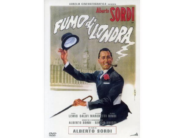 画像1: イタリア語で観るイタリア映画 アルベルト・ソルディ 「ロンドンの煙 Fumo Di Londra」 DVD  【B2】【C1】