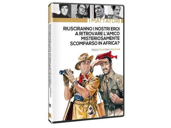 画像1: イタリア語で観るイタリア映画 アルベルト・ソルディ 「Riusciranno I Nostri Eroi A Ritrovare L'Amico Misteriosamente Scomparso In Africa?」 DVD  【B2】【C1】