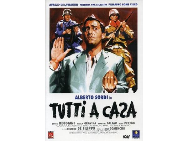 画像1: イタリア語で観るイタリア映画 アルベルト・ソルディ 「Tutti A Casa」 DVD  【B2】【C1】