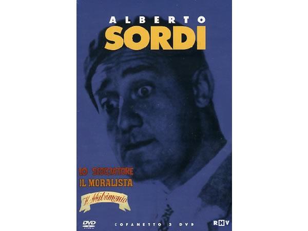 画像1: イタリア語で観るイタリア映画 アルベルト・ソルディ 「Cofanetto: Il Matrimonio Lo Scocciatore Il Moralista」 3枚組 DVD  【B2】【C1】