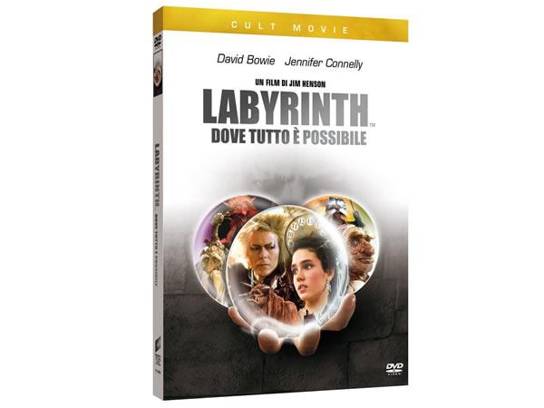 画像1: イタリア語などで観るジェニファー・コネリーの「ラビリンス/魔王の迷宮」 DVD 【B1】【B2】【C1】