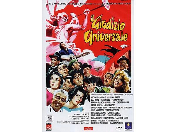 画像1: イタリア語で観るイタリア映画 アルベルト・ソルディ 「Il giudizio universale」 DVD  【B2】【C1】