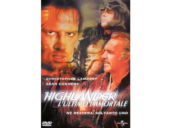 画像1: イタリア語などで観るショーン・コネリーの「ハイランダー 悪魔の戦士」 DVD 【B1】【B2】【C1】