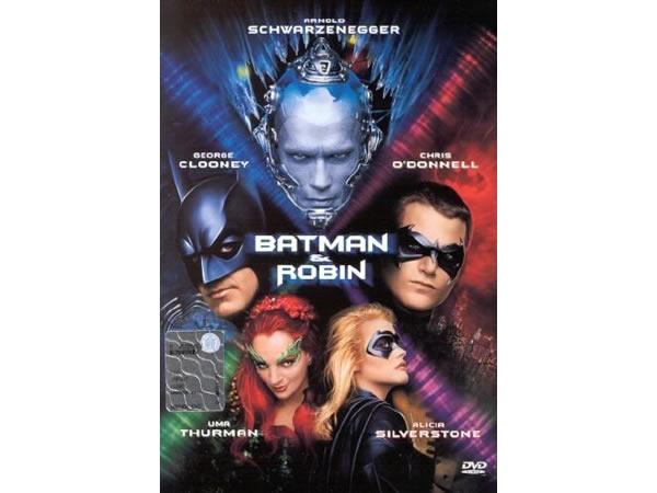 画像1: イタリア語などで観るアーノルド・シュワルツェネッガーの「バットマン & ロビン Mr.フリーズの逆襲」 DVD  【B1】【B2】