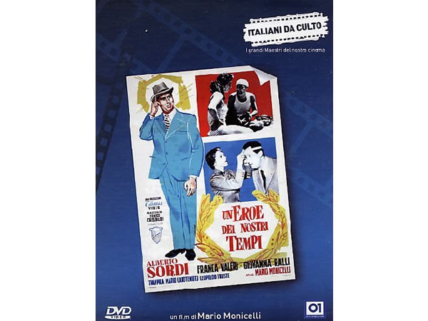 画像1: イタリア語で観るイタリア映画 アルベルト・ソルディ 「Un Eroe Dei Nostri Tempi」 DVD  【B2】【C1】