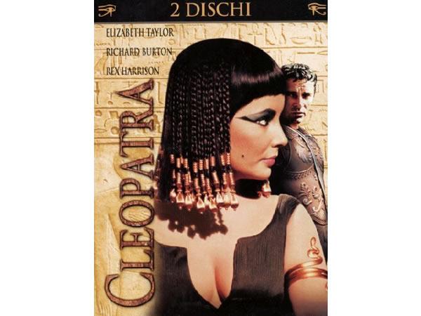 画像1: イタリア語、英語で観るエリザベス・テイラーの「クレオパトラ」2枚組 DVD  【B1】【B2】