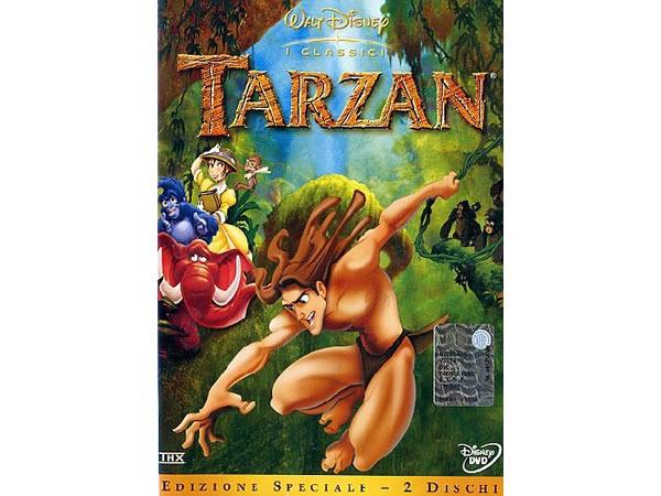 画像1: イタリア語などで観るディズニーの「ターザン」 DVD 2枚組【A2】【B1】