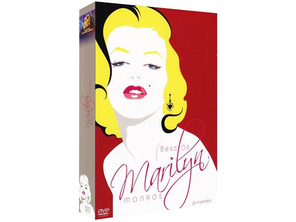 画像1: イタリア語などで観る「マリリン・モンロー・ベストフィルム・コレクション」 DVD 4枚組【B1】【B2】