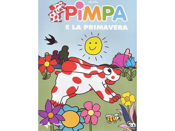画像1: イタリア語で観るイタリアのアニメ映画 ピンパ「Pimpa e la primavera」 DVD【A1】【A2】【B1】【B2】