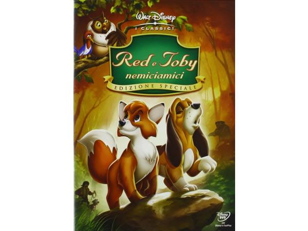 画像1: イタリア語などで観るディズニーの「きつねと猟犬」 DVD【A2】【B1】