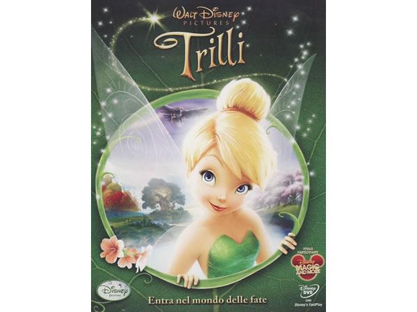 イタリア語, ドイツ語, 英語, トルコ語で観るアニメ 「ティンカー・ベル」DVD  Trilli Tinker Bell