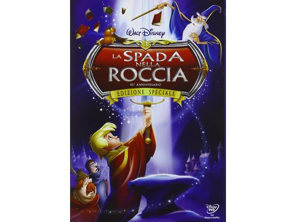 画像1: イタリア語などで観るディズニーの「王様の剣」 DVD【A2】【B1】