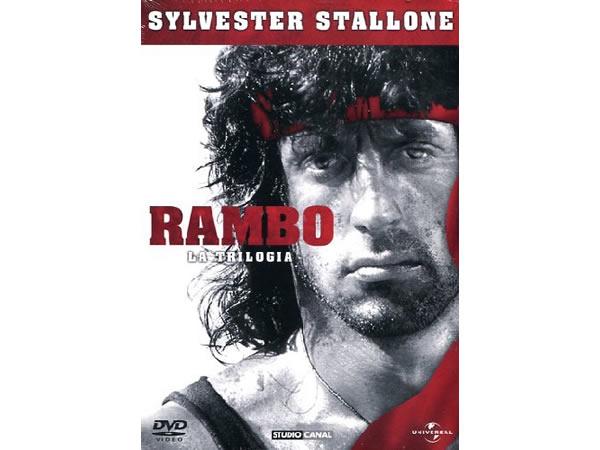 画像1: イタリア語などで観るシルヴェスター・スタローンの「ランボー・シリーズ」 DVD 3枚組【B1】【B2】【C1】