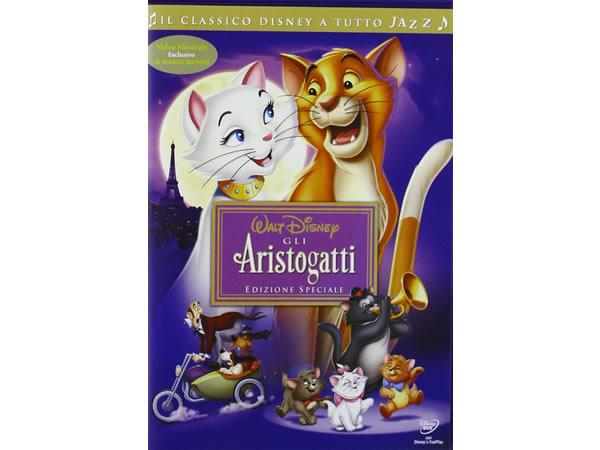 画像1: イタリア語などで観るディズニーの「おしゃれキャット」 DVD【A2】【B1】
