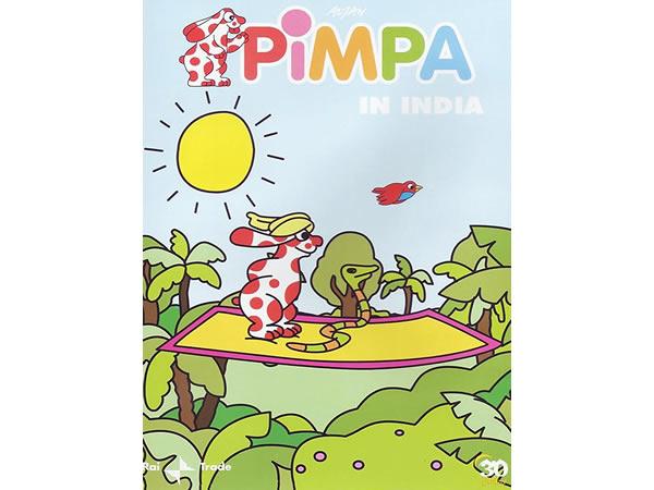 画像1: イタリア語で観るイタリアのアニメ映画 ピンパ「Pimpa in India」 DVD【A1】【A2】【B1】【B2】