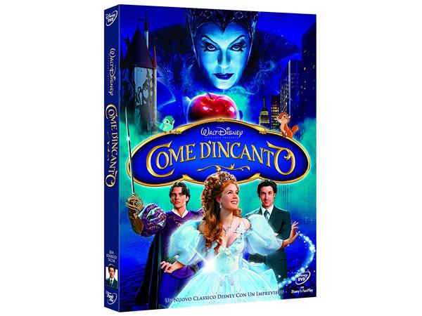 画像1: イタリア語などで観るディズニーの「魔法にかけられて」 DVD【A2】【B1】