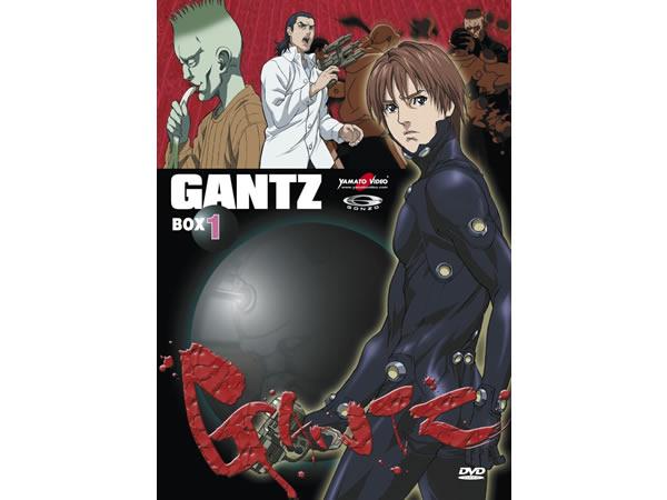 画像1: イタリア語で観る、奥浩哉の「GANTZ Box 01」 DVD 3枚組【B1】【B2】