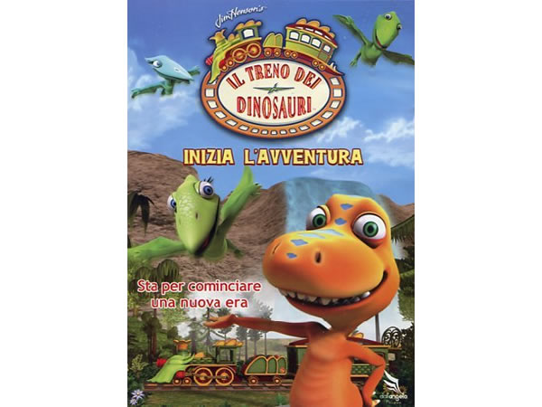 画像1: イタリア語などで観る「ダイナソー・トレイン Inizia L'Avventura」 DVD【B1】【B2】【C1】