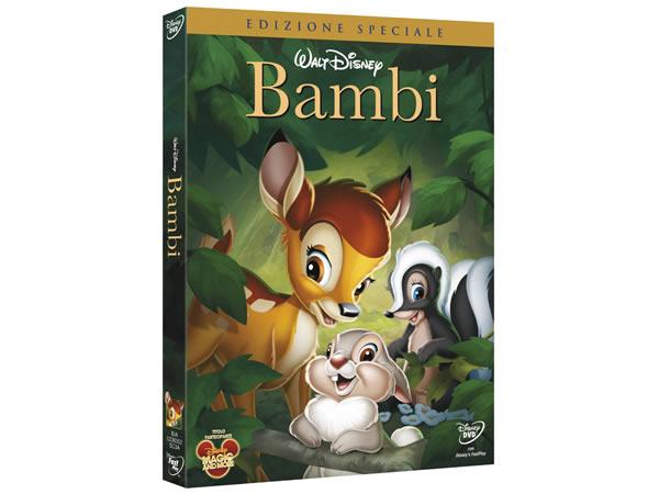 画像1: イタリア語などで観るディズニーの「バンビ」 DVD【A2】【B1】