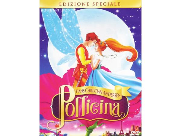 画像1: イタリア語などで観るジョディ・ベンソンの「おやゆび姫 サンベリーナ」 DVD【B1】【B2】