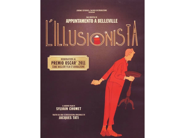 画像1: イタリア語などで観る シルヴァン・ショメの「イリュージョニスト」 DVD【B1】【B2】