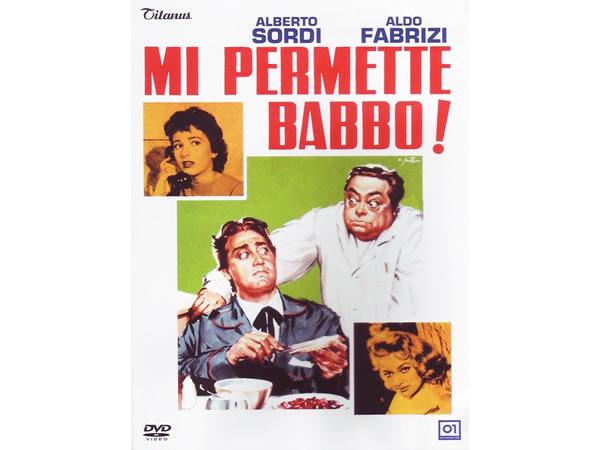 画像1: イタリア語で観るイタリア映画 アルベルト・ソルディ 「Mi Permette Babbo!」 DVD  【B2】【C1】