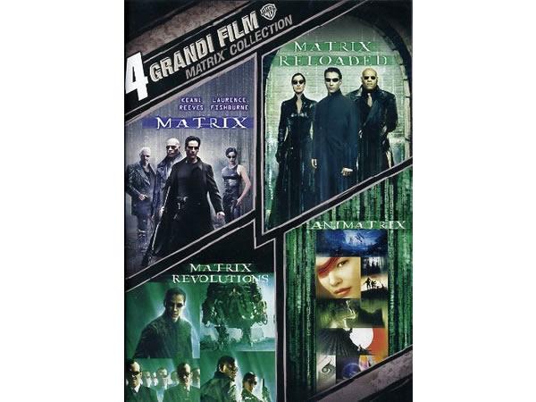 画像1: イタリア語などで観るキアヌ・リーブス出演の「マトリックス」 DVD 4枚組  【B1】【B2】【C1】
