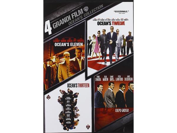 画像1: イタリア語などで観る「オーシャンズシリーズ・コレクション」 DVD 4枚組【B1】【B2】
