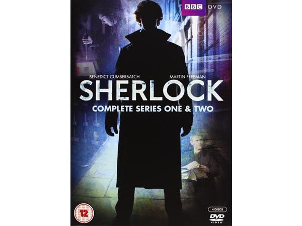 画像1: 英語で観るベネディクト・カンバーバッチの「SHERLOCK(シャーロック)」 DVD 4枚組 【B2】【C1】