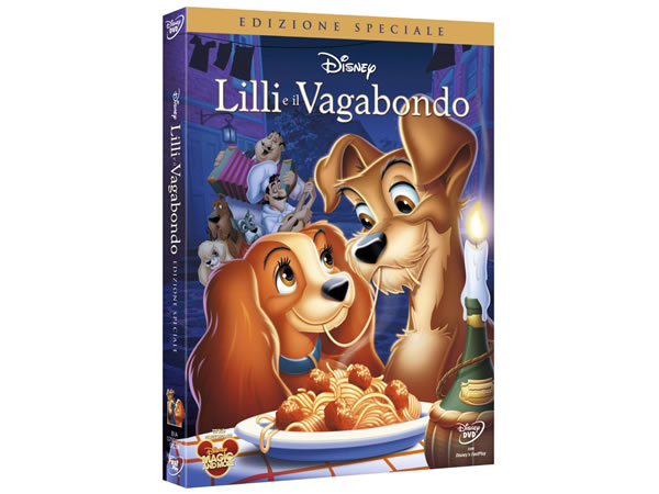 画像1: イタリア語などで観るディズニーの「わんわん物語」 DVD【A2】【B1】