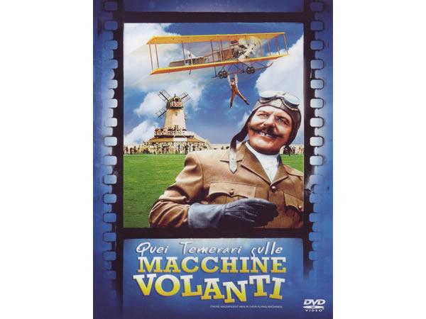 画像1: イタリア語などで観るイタリア映画 アルベルト・ソルディ 「素晴らしきヒコーキ野郎 Quei Temerari Sulle Macchine Volanti」 DVD  【B2】【C1】