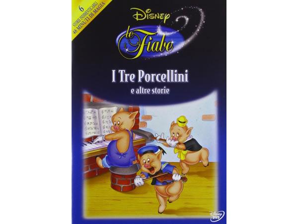 画像1: イタリア語などで観るディズニーの「三匹の子豚」 DVD【A2】【B1】