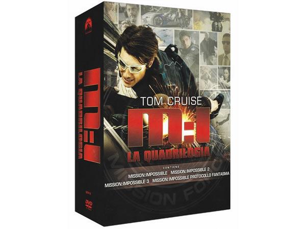 画像1: イタリア語などで観る「ミッション:インポッシブル・コレクション」 DVD 4枚組【B1】【B2】