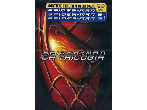 画像1: イタリア語、英語で観るサム・ライミ トビー・マグワイアの「スパイダーマン I II III」 DVD 3枚組  【B1】【B2】