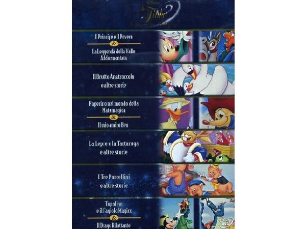 画像1: イタリア語などで観るディズニー「童話コレクション」DVD 6枚組【A2】【B1】