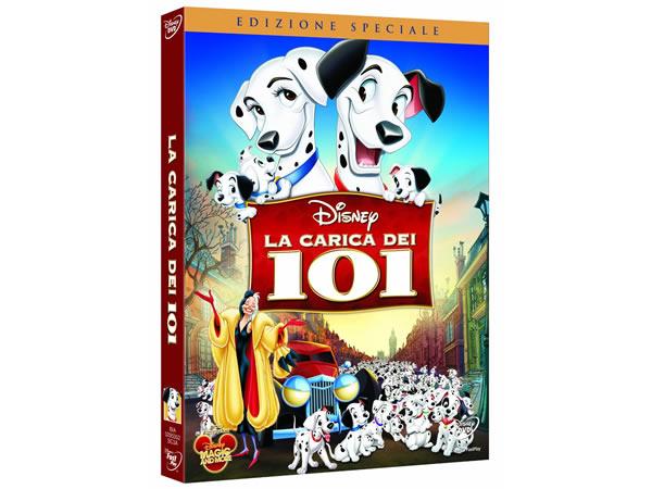 画像1: イタリア語などで観るディズニーの「101匹わんちゃん」 DVD【A2】【B1】