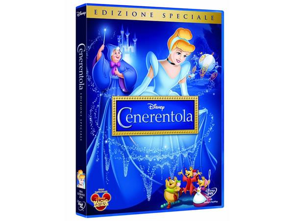 画像1: イタリア語などで観るディズニーの「シンデレラ」 DVD【A2】【B1】