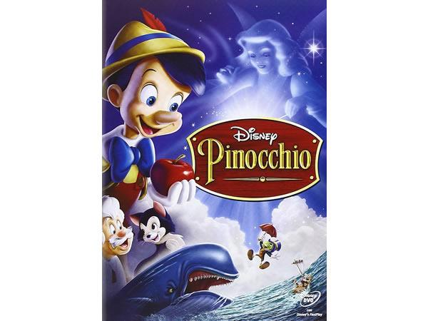 画像1: イタリア語などで観るディズニーの「ピノキオ」 DVD ピノッキオ【A2】【B1】