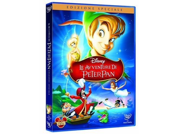 画像1: イタリア語などで観るディズニーの「ピーター・パン」 DVD【A2】【B1】
