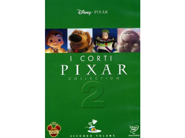 画像1: イタリア語などで観るディズニー&ピクサーの「ピクサー・ショート・フィルム Vol.2」 DVD【A2】【B1】