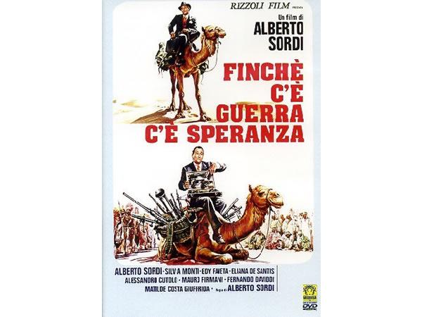 画像1: イタリア語で観るイタリア映画 アルベルト・ソルディ 「Finche' C'E' Guerra C'E' Speranza」 DVD  【B2】【C1】