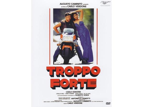 画像1: イタリア語で観るイタリア映画 アルベルト・ソルディ&カルロ・ヴェルドーネ 「Troppo Forte」 DVD  【B2】【C1】
