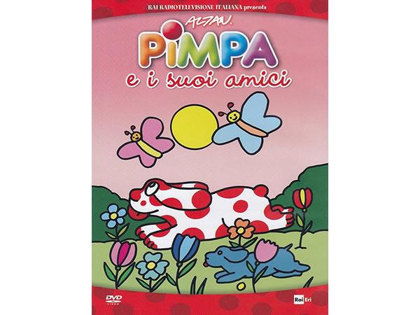 画像1: イタリア語で観るイタリアのアニメ映画 ピンパ「Pimpa e i suoi amici」 DVD【A1】【A2】【B1】【B2】