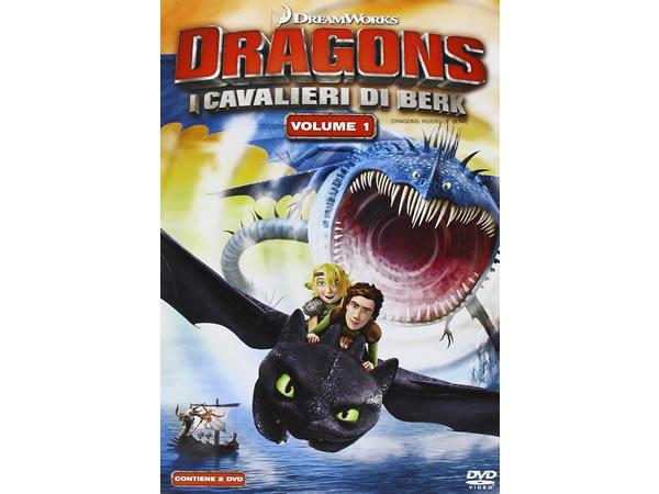画像1: イタリア語などで観る「ヒックとドラゴン I Cavalieri Di Berk #01」 DVD 2枚組【B1】【B2】【C1】