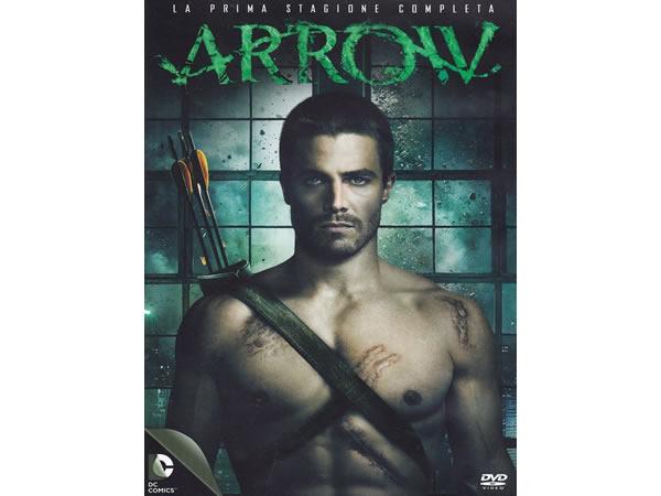 画像1: イタリア語などで観る スティーヴン・アメルの「ARROW/アロー  シーズン1」 DVD 5枚組  【B2】【C1】