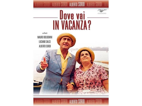 画像1: イタリア語で観るイタリア映画 アルベルト・ソルディ 「Dove Vai In Vacanza?」 DVD  【B2】【C1】