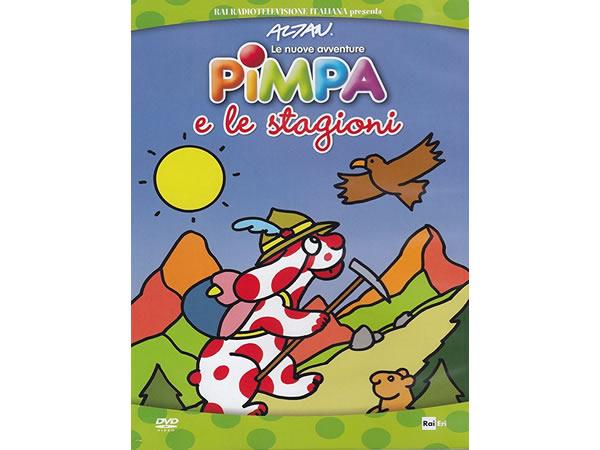 画像1: イタリア語で観るイタリアのアニメ映画 ピンパ「Le nuove avventure - Pimpa e le stagioni」 DVD【A1】【A2】【B1】【B2】