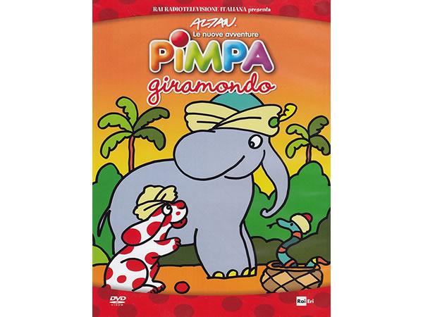 画像1: イタリア語で観るイタリアのアニメ映画 ピンパ「Le nuove avventure - Pimpa giramondo」 DVD【A1】【A2】【B1】【B2】