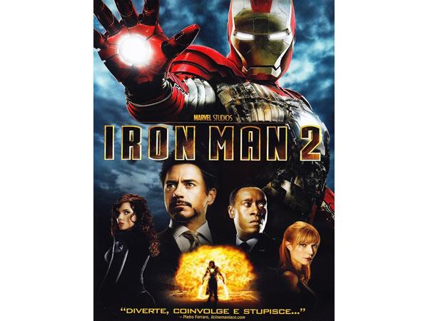画像1: イタリア語などで観るロバート・ダウニー・Jrの「アイアンマン2」 DVD  【B1】【B2】